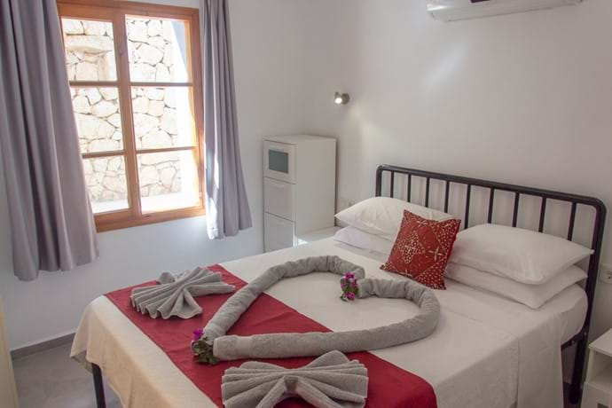 Dusk - main bedroom
