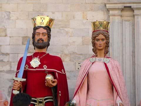 Girona's Giants.