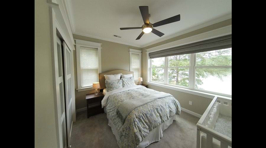 Wider view of Bedroom 4 - this one as a crib