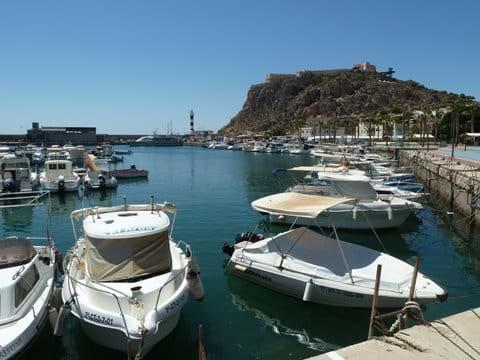 Aguilas harbour