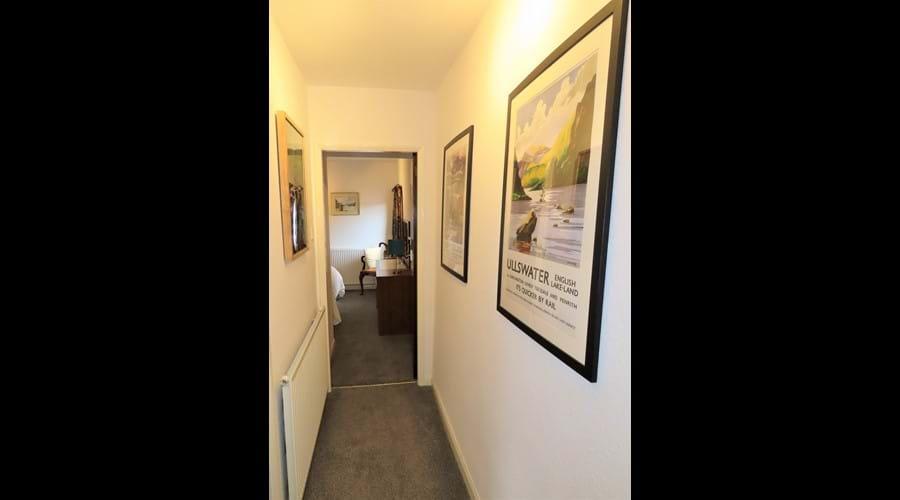 Double bedroom from corridor