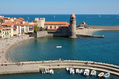 The beautiful seaside town of Collioure - highly recommended day trip