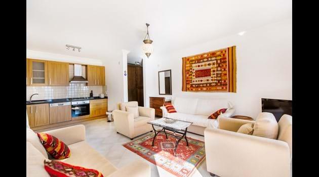 Annex Apartment Open Plan Kitchen & Living Room