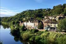 View from the Iron Bridge