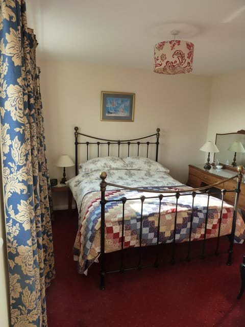 Double bedroom in Smeale Farm Cottage.
