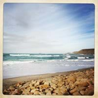 Sennen Cove on Boxing Day