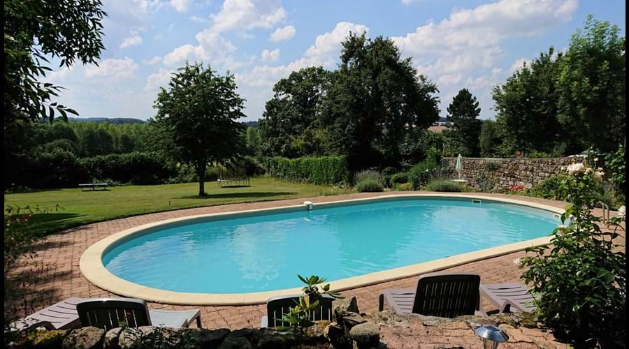 Guests exclusive usage of the heated swimming pool - 10m x 5m x 1.5m