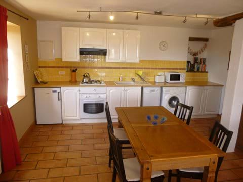 accommodation with well equipped kitchen.