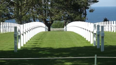The American Cemetery - Normandy