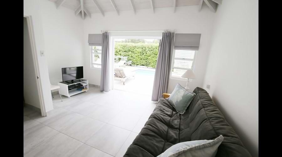 Driftwood Villa, Mullins, Barbados - TV Media Room