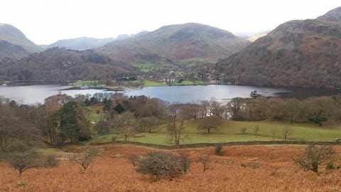 The walk from Howtown is one of our favourites.  This is the view as you get closer to Glenridding.
