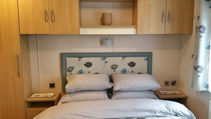 Main bed has ensuite toilet and basin