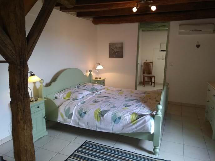 La Grappe Lower bedroom