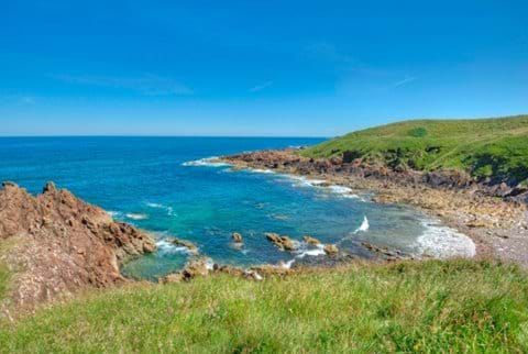 View from the footpath between Eyemouth and St Abbs