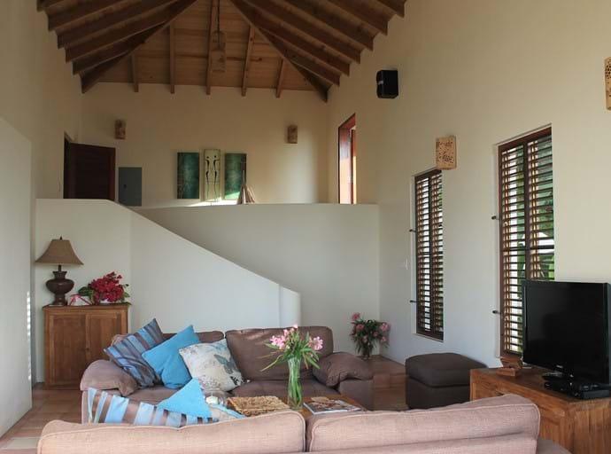 Mezzanine & Living Area