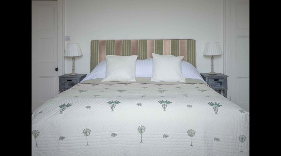 The beds are all luxuriously comfortable with top quality Egyptian cotton linens
