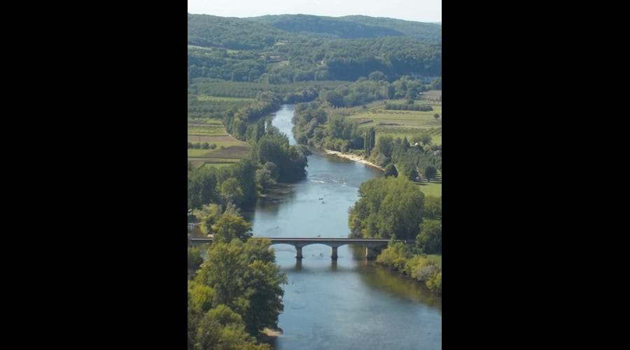 View of the Dordogne River at Domme