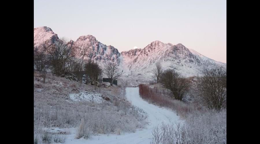 Blaven in Winter