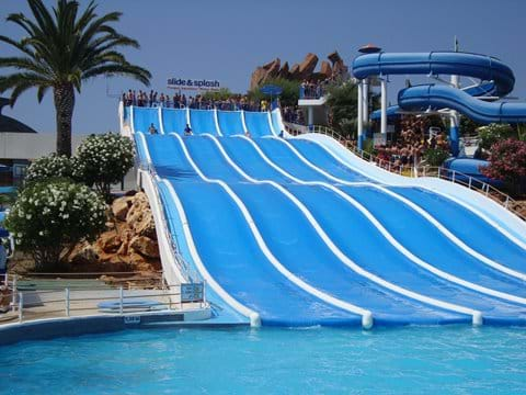 Great fun at Slide and Splash