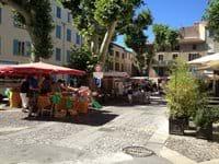 Market day in Flayosc!