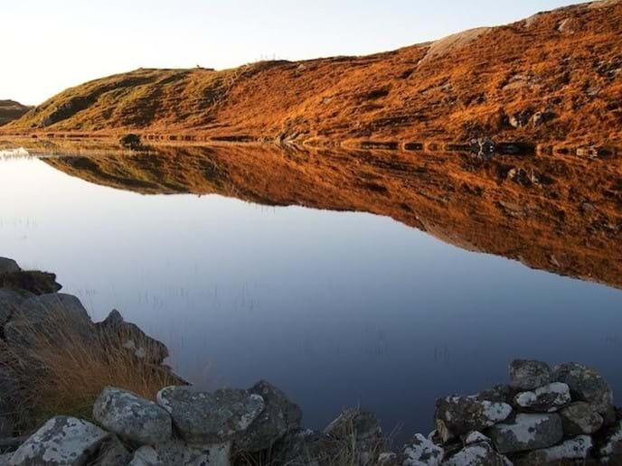 Loch Geal, Bernera in winter