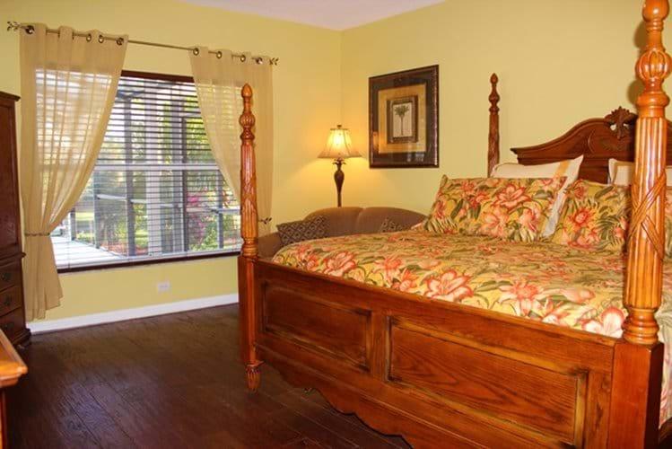 Master Bedroom based downstairs