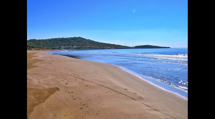 Suluklu beach: for sandy-beach lovers!