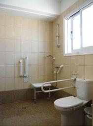 Accessible en-suite in master bedroom