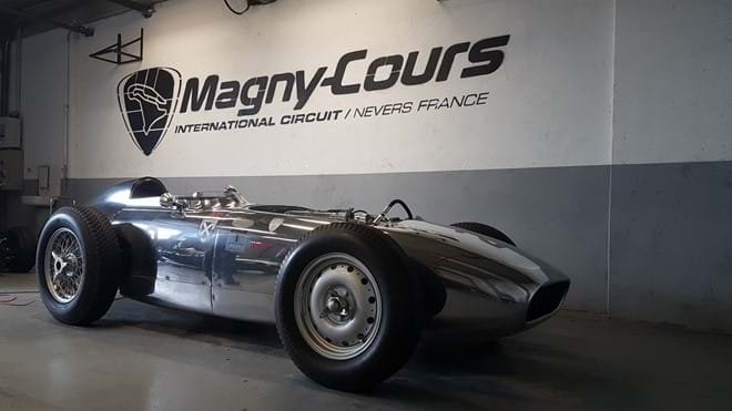 Magny Cours racetrack just down the road!