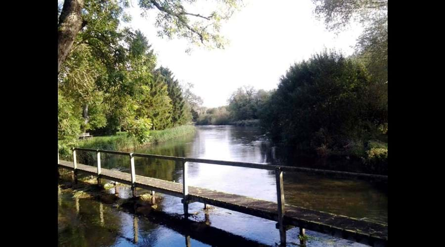 The RIver Test at Houghton