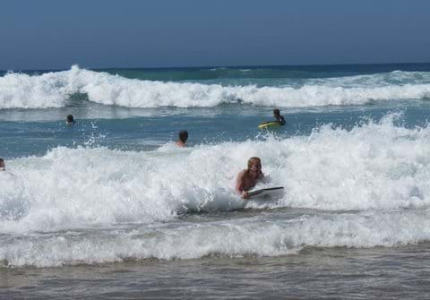 Bodyboard Action