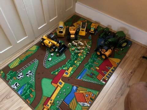 Indoor Farm Toys - Moo Cow self catering