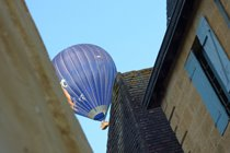 Take flight in a Mongolfiere over Sarlat's rooftops