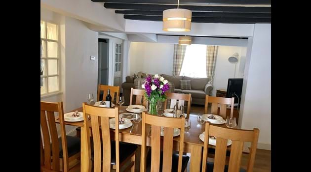 Dining Space to enjoy relaxing with family or friends
