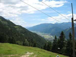 View towards Mollbrucke
