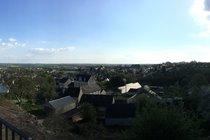 View over Villaines-la Juhel