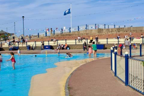 Sutton on Sea 'free to use' paddling pool