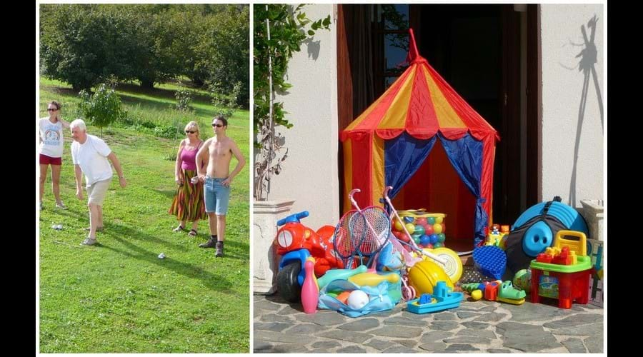 Toys, Bats & Balls, Games; The Challenge of a Game of Boules !