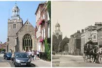 Georgian Lymington - now and then.