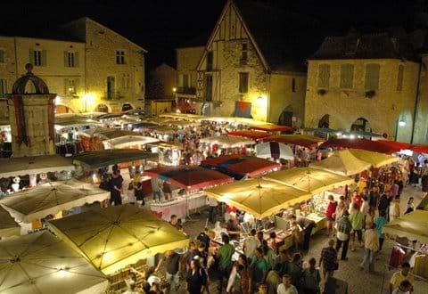 Eymet night market