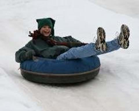 Snow Tubing fun (with Interski Pamporovo)