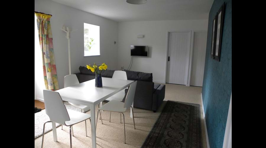 The Shippon open plan living space