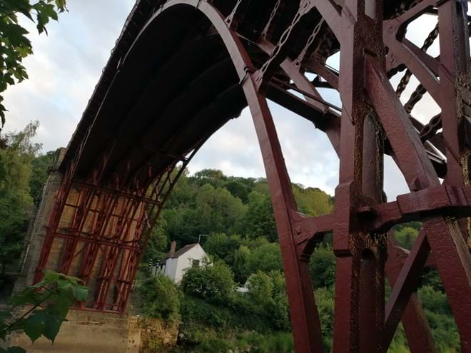 The Iron Bridge - a stones throw away from Ironbridge View Townhouse
