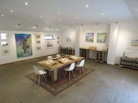 Our on-site art gallery