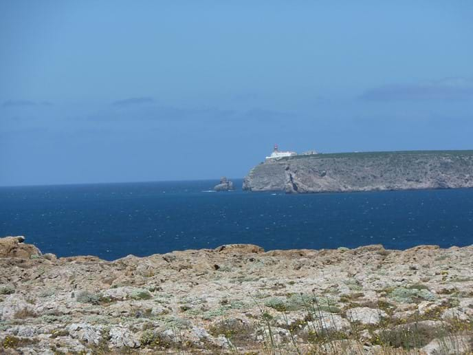 Cape de Vincent from Sagres