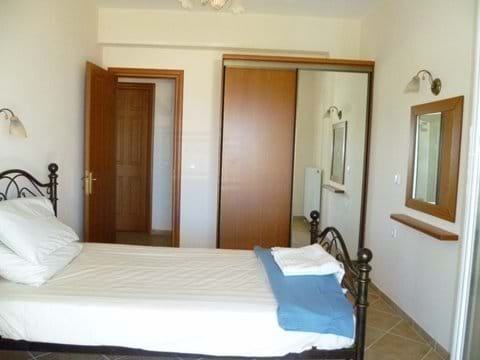Bedroom 2 - double bed - shares a private balcony with bedroom 3