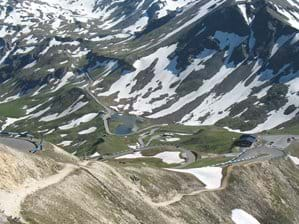 Another view of the Grossglockner pass. Road is closed during Winter months