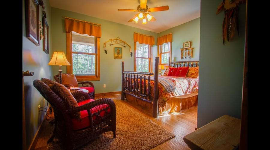 Native Pride suite with queen bed