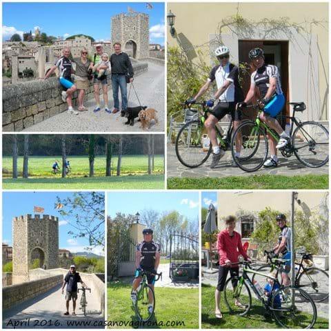 April Cycling.