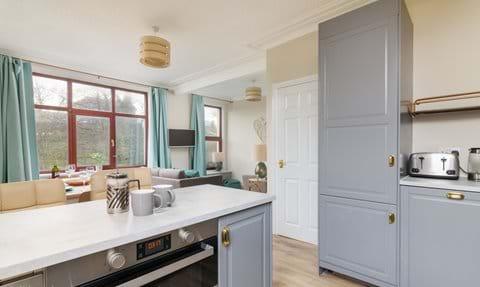 Open plan kitchen lounge diner Isle of Man